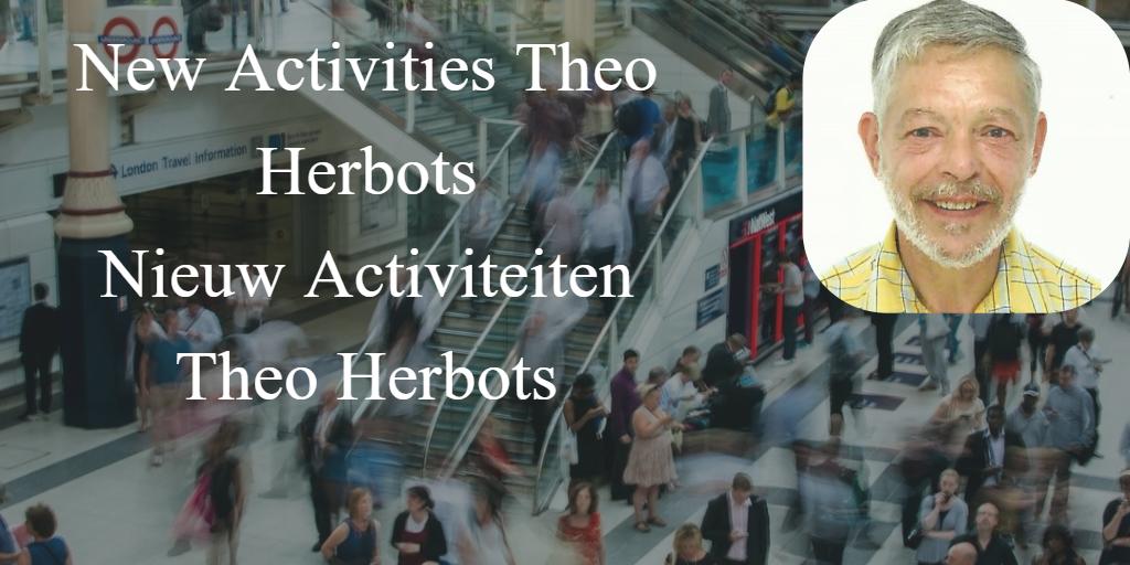 Nieuw Activiteiten Theo Herbots //  New Activities Theo Herbots